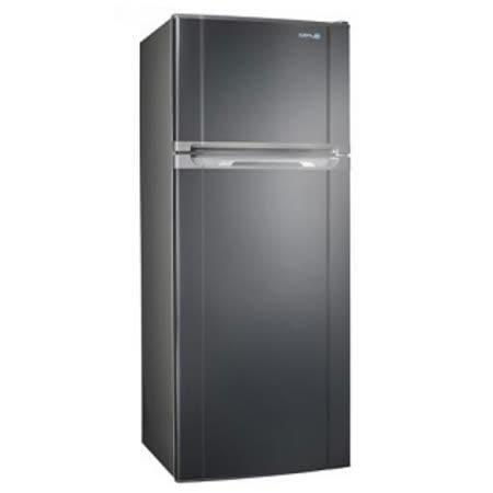 ↙0利率↙SAMPO 聲寶 340L 極致節能變頻雙門冰箱SR-A34D(S3)【 南霸天電器百貨】