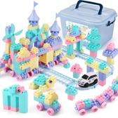 積木拼裝玩具益智6-7-8-10周歲男孩子兒童女孩寶寶1-2-3智力 琉璃美衣