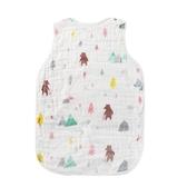兒童睡袋 寶寶薄款睡袋嬰兒春夏季空調房睡帶大童薄棉夏天小孩六層紗布睡衣 薇薇