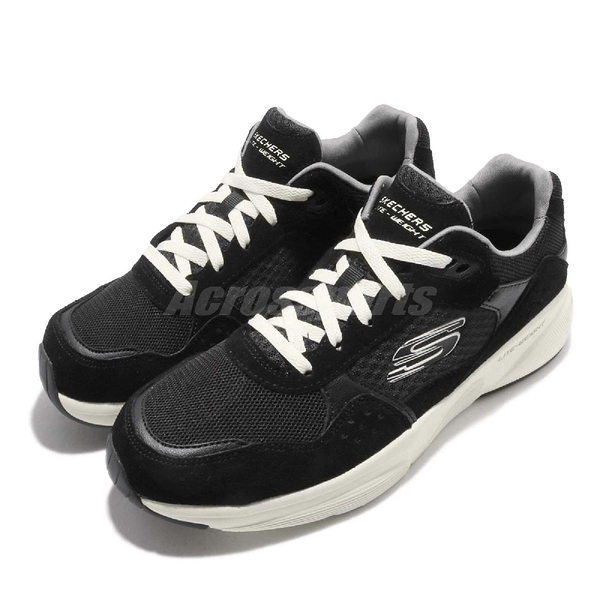 Skechers 老爹鞋 Meridian-Ostwall 黑白 男鞋 運動鞋 【PUMP306】 52952BKW