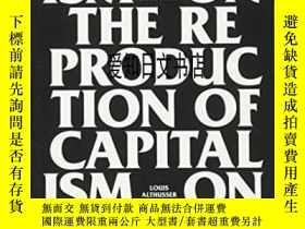 二手書博民逛書店【罕見】On The Reproduction Of CapitalismY175576 Louis Alth