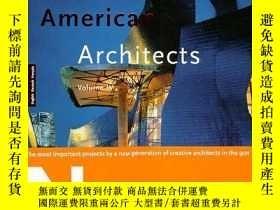 二手書博民逛書店Contemporary罕見American Architect