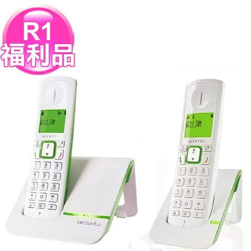 R1【福利品】Alcatel數位無線電話F200DUO綠