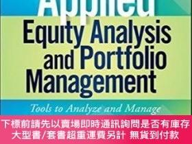 二手書博民逛書店Applied罕見Equity Analysis And Portfolio Management + Video