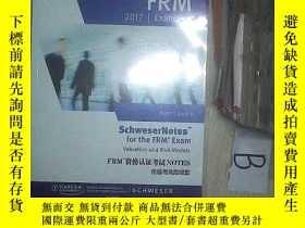 二手書博民逛書店FRM罕見2017 EXAM PREP PART I BOOK 4 FRM资格认证考试NOTES 估值与风险模型奇