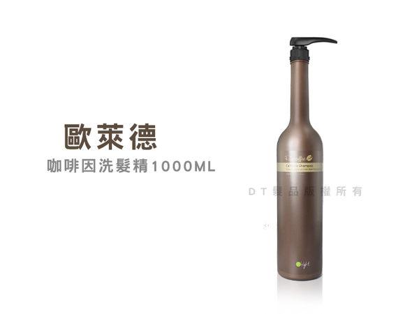 【DT髮品】O'right 歐萊德 咖啡因洗髮精 1000ml 【2207004】