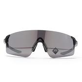 OAKLEY 太陽眼鏡 EVZERO BLADES ASIAN FIT 黑 亞洲版 PRIZM色控科技 極致輕 (布魯克林) OKOO9454A0138