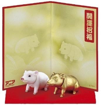 TOMICA ANIA 2019年多美動物ANIA 新年快樂-豬_AN12175 多美動物園