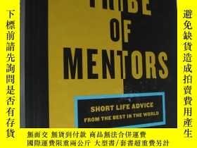 二手書博民逛書店Tribe罕見of Mentors: Short Life Advice from the Best in the