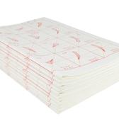 歐體描紅宣紙毛邊紙成人書法臨摹紙學生毛筆字紙歐楷書字帖教程學生米字格白宣紙