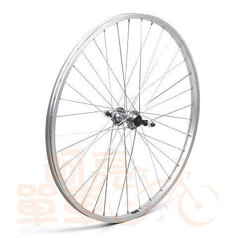 SHINING 26吋登山車經濟型鋁合金後輪,DIY的好選擇,銀色《A20-004》
