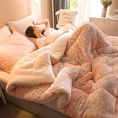 冬被 羊羔雙面絨10斤毛被子冬季保暖加厚冬被芯超厚單人8斤雙人全棉被-Ballet朵朵
