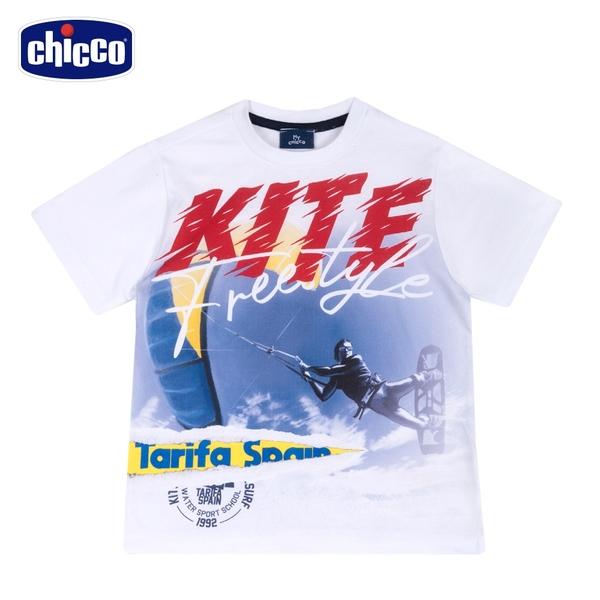 chicco-快樂夏天-KITE短袖上衣