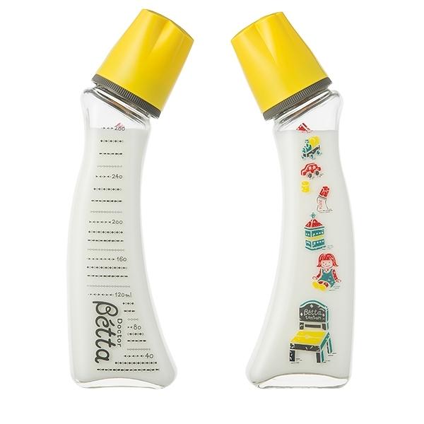 日本 Dr. Betta tonton三週年限量奶瓶 Brain G4-280ml (耐熱玻璃)【總代理公司貨】