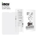 【愛瘋潮】iMOS APPLE iPad Pro 12.9吋(無開home鍵孔位)(2018-2021) 強化玻璃保護貼 平板保護貼