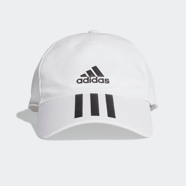 Adidas BB C 3S 4a A.R. [FK0880] 男女 老帽 鴨舌帽 棒球帽 六分割 經典款 騎車 白