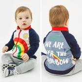 兒童外套 棒球夾克外套衣服春秋女寶寶男童兒童幼兒小童洋氣秋裝Y3900 快速出貨