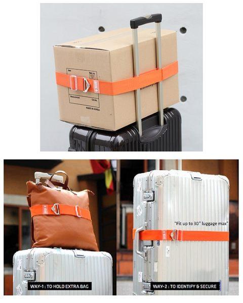 福利品-韓版旅行箱彈力行李帶
