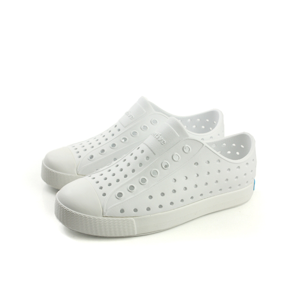 native JEFFERSON 懶人鞋 洞洞鞋 防水 雨天 白色 中童 童鞋 12100100-1999 no638