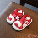 學步鞋 寶寶學步鞋涼鞋嬰兒0-1歲軟底夏天網鞋2-3歲防滑男童女童沙灘鞋