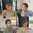 新款少女夏天頭箍防滑壓發簡約韓國網紅發箍洗臉發卡百搭外出發帶 小艾新品