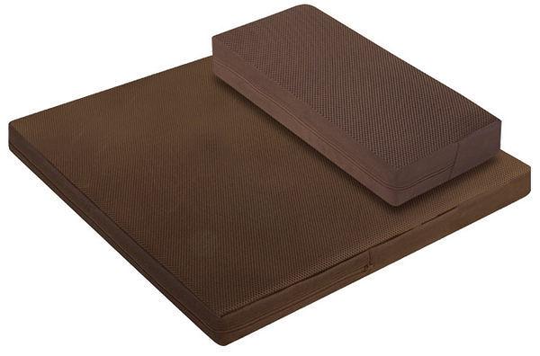 源之氣【小方加高+加大四方】RM-40128竹炭靜坐墊組/二色可選  (Meditation cushion)
