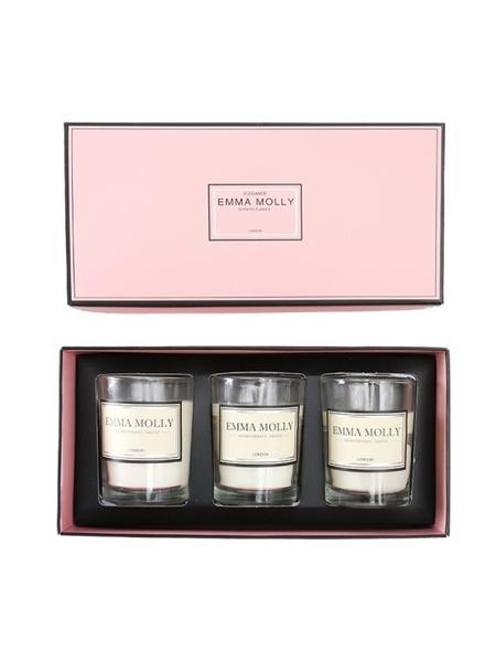蠟燭香薰EMMAMOLLY進口香氛香薰蠟燭禮盒裝圣誕生日新婚禮物送閨蜜
