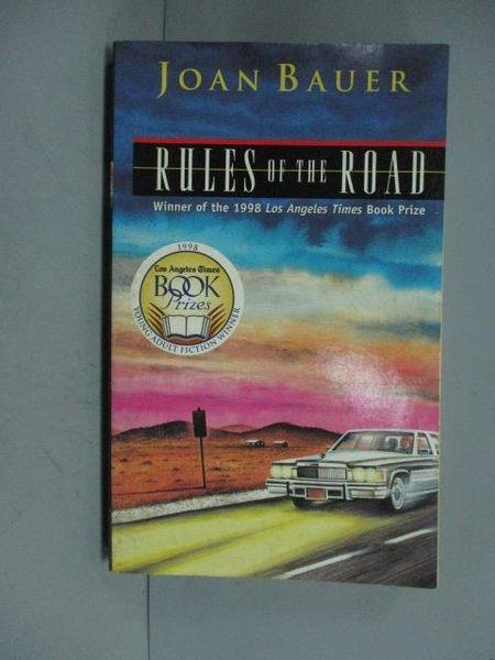 【書寶二手書T3/原文小說_GDM】Rules of the Road_Bauer, Joan