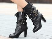 高跟長靴-明星款隨意俐落女靴子nws3【巴黎精品】