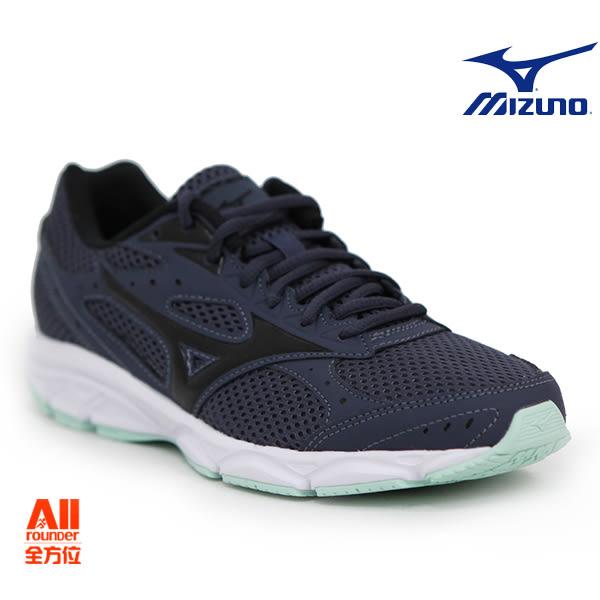 【Mizuno美津濃】女款運動休閒慢跑鞋 SPARK 3- 灰藍色(K1GA180409)【全方位運動戶外館】
