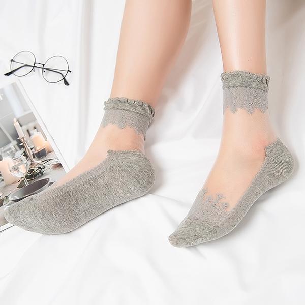 襪子女蕾絲襪