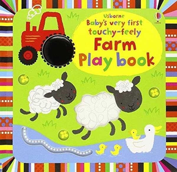 Baby's Very First Touchy-Feely Farm Play Book 寶寶的第一本翻翻觸摸操作書:農場動物