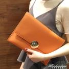 韓版大容量女手拿包潮流簡約信封包時尚氣質手抓包錬條包 黛尼時尚精品