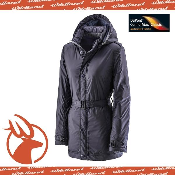 【Wildland 荒野 女款 輕量杜邦棉 防風防潑外套《深藍》】0A-2290372/羽絨衣/連帽外套