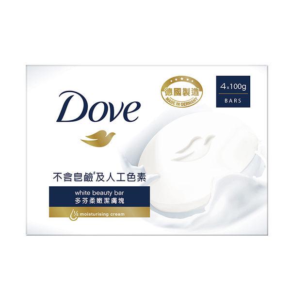 DOVE多芬 滋養柔嫩潔膚塊/清爽水嫩潔膚塊 4x100g (兩款任選) ◆86小舖 ◆