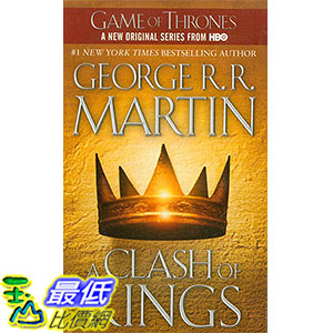 [ 美國直購 2016 暢銷書] A Clash of Kings (A Song of Ice and Fire, Book 2) Mass Market Paperback