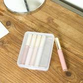 ✭米菈生活館✭【P168】透明長方收納盒 塑料盒 化妝盒   防水 零件 鈕扣 橡皮擦 針線