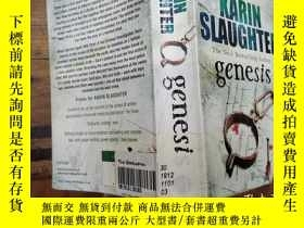 二手書博民逛書店罕見genesisY271632 karin slaughter