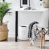 塑料垃圾桶筒家用客廳臥室簡約無蓋衛生間創意北歐紙簍   LannaS