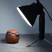 拍照小型攝影燈美食珠寶首飾品拍攝燈主播自拍手機直播補光燈