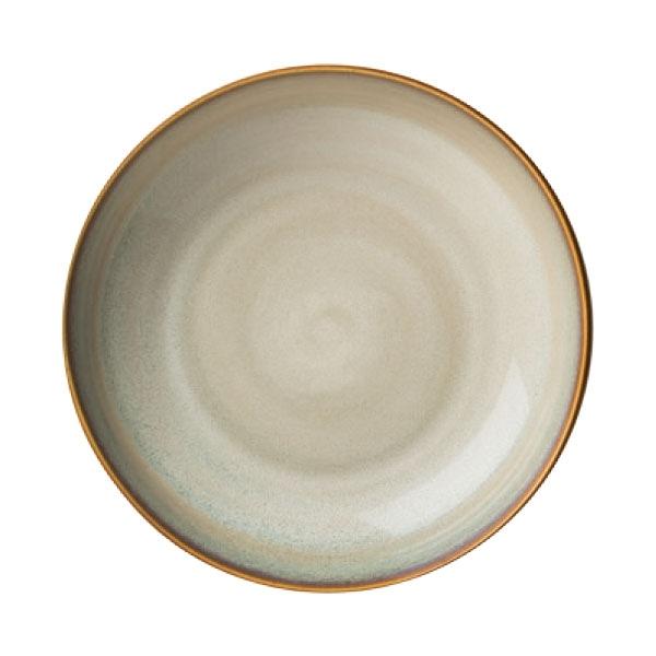 【Luzerne】陸升瓷器 Rustic 18cm 深圓盤 -白褐色 /RT6102018