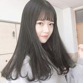 長假髮 假髮女長髮鎖骨髮中長直髮長捲髮大波浪氣質修臉網紅可愛短髮髮型