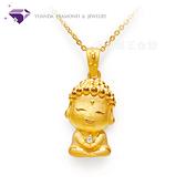 【元大珠寶】好神系列 『阿彌陀佛』黃金墜 -純金9999國家標準