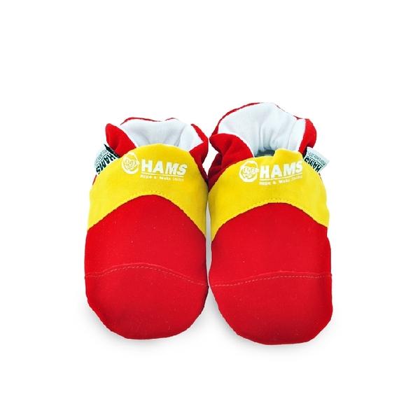 嬰兒學步鞋-HAMS純棉軟底麂皮防滑寶寶鞋-西班牙