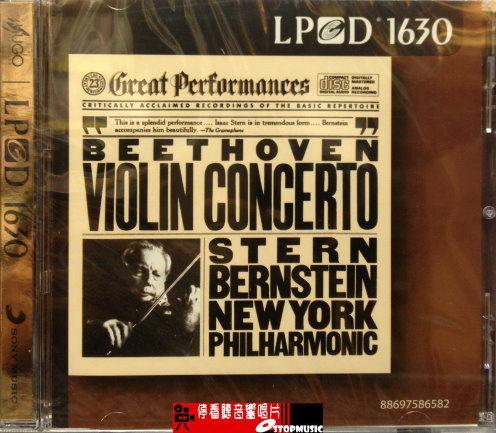 【停看聽音響唱片】【CD】BEETHOVEN-VIOLIN CONCERTO-STERN BERNSTEIN