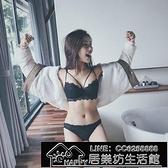 快速出貨 新品黑色蕾絲加厚少女胸罩細肩帶聚攏文胸【2021鉅惠】