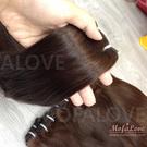 真髮髮簾 22吋A級優質髮 100克髮量 可電棒燙 接髮 客製髮片 魔髮樂Mofalove