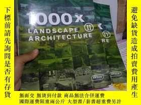 二手書博民逛書店實物拍照;1000x罕見Landscape Architecture【2 3】2本合售Y15389 Verla