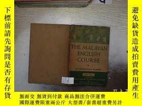 二手書博民逛書店THE罕見MALAYAN ENGLISH COURSE 馬來英語課程Y261116