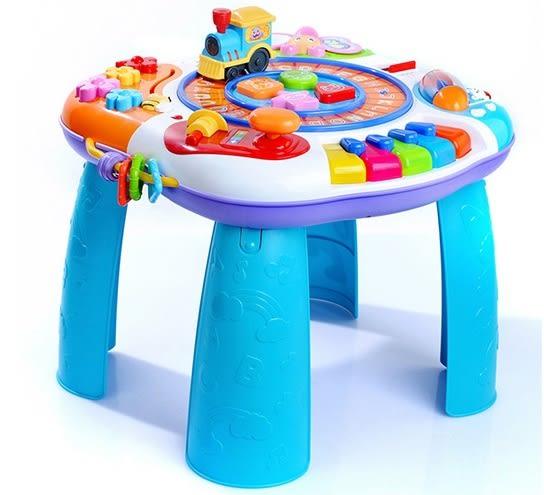 *粉粉寶貝玩具*㊣英紛英文音樂學習桌-多功能字母音樂遊戲桌.早教益智玩具~雙語遊戲桌